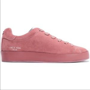 NEW Rag & Bone Low Suede Sneakers